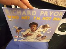 Richard Pryor Who Me I'm Not Him LP 1977 Laff Records EX IN Shrink