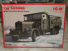 ICM 1/35 Scale WWII  Mercedes-Benz German Army Truck Typ LG3000 - Factory Sealed