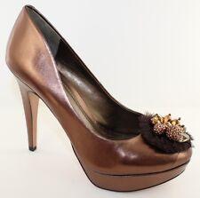 4842d8fd6619 BCBG Scottie Brown 5   Platform Classic Pumps Heels Shoes Size ...