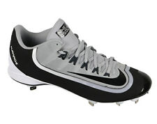 Nike Huarache 2Kfilth Pro Low Metal Baseball Cleats sz 14 Black Gray White Mlb