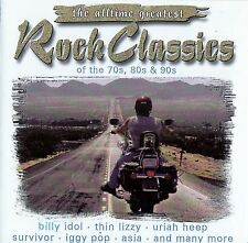 The ALLTIME Greatest Rock Classics of the 70s, 80s & 90s/2 CD-Set