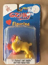Grimmy Figurine It Doesn't Get Much Better Than This Dog and Fire Hydrant 1989