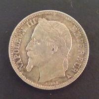 Napoléon III (1852-1870) - 1 franc 1867 A Paris
