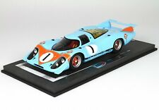 Porsche 917 LH 1969 #1 - 1/18th by BBR Models - Gulf Racing colors (NEW)