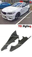 Carbon Fiber Side Skirt Extension For BMW F87 M2, High Quality Vacuum Type