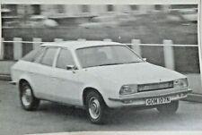 Austin Princess 2200 HL Road Test Autocar Magazine 29 March 1975 Classic Car