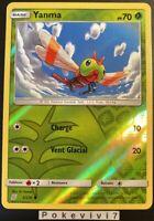 Carte Pokemon YANMA 2/236 REVERSE Soleil et Lune 11 SL11 FR NEUF