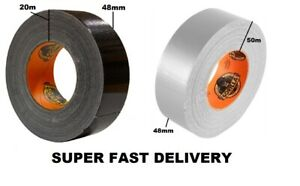 Gorilla Tape 48mm x 11m 20m 50m GLUE Strong Thick Tougher Weather Durable Tape