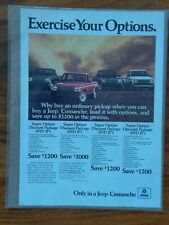 1988 Jeep Comanche Magazine Ad