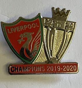 Liverpool FC champions pin Badge