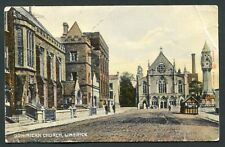 St Saviours church Dominican church Dominic Street Limerick old vintage postcard