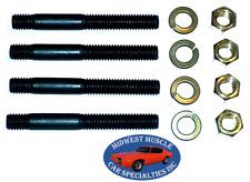"Chrysler Dodge 3/8 ""x 3-1/4"" Engine Exhaust Intake Manifold Head Stud Bolt 4pc C"