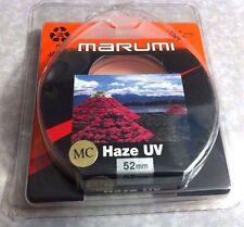 52mm Multi-Coated  MC UV HAZE Lens  Protector Filter Genuine Marumi Japan 52 mm