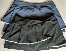 Lot of 2 Nike Women's Woven Pleated Tennis Skirt Skort Dri-Fit Size Large 480792