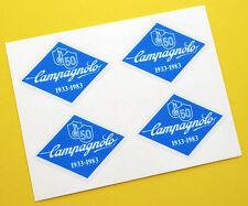 Campagnolo Vintage Style 50th anniversario Blue Telaio Bici Adesivi Decalcomanie