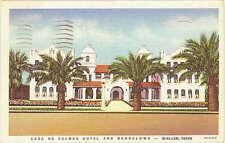 Casa de Palmas Hotel McAllen Texas 1937 Teich Building Postcard
