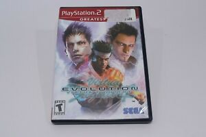 Virtua Fighter 4 Evolution PlayStation PS2 Greatest Hits Complete W/ Case Manual