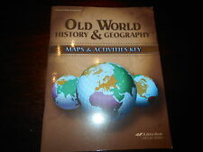 Abeka world geography 9 ebay abeka book history old world history geography homeschool maps activities gumiabroncs Image collections