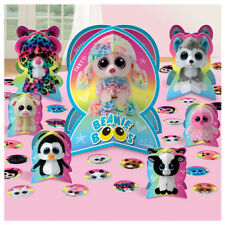 BEANIE BOOS TABLE DECORATING KIT (31pc) ~ Birthday Party Supplies Centerpiece