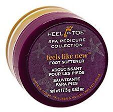 2 Jars Heel to Toe Foot Softener- Feels Like New Intensive Care- .62 oz each jar