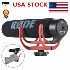 RODE VideoMic On-Camera Shotgun Microphone +Windshield for Canon Nikon DSLR