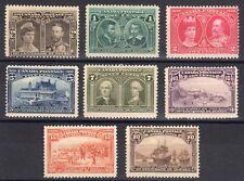 CANADA STAMPS #96-103  — QUEBEC TERCENTENARY SET — 1908  — UNUSED