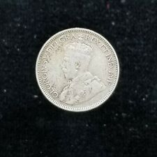 Canada Silver 10 Cents 1917 King George V