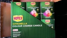 Citronella Colour Changing Mosquito Insect Repellent  Candle (Pack of 6)