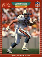 1989 Pro Set Football #s 221-440 +Rookies - You Pick - Buy 10+ cards FREE SHIP