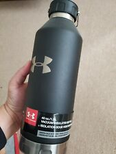 Under Armour 1.2 Liter 40 Ounce Insulated Water Bottle Thermos cold hot black ua