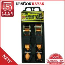 Dragon Kayak Ratchet Strap Twin Pack For Carrying Kayaks On Roof Racks