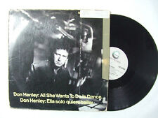 "Don Henley ‎– All She Wants To Do Is Dance- Disco Mix 12"" Vinile Stampa USA 1985"