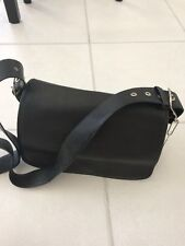 Coach Black Leather Shoulder Handbag Bag Legacy Classic Authentic  9332