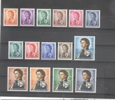 Hong Kong China 1962 Queen Elizabeth 2nd Issue Mint NH Set