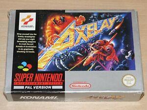 Super Nintendo / SNES - Axelay by Konami - Shoot-em-up - Retrogames.co.uk