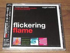 SEALED! Roger Waters JAPAN PROMO CD FLICKERING FLAME obi PINK FLOYD case crack