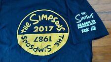 RARE The Simpsons Season 29 Premiere Party Promo T Shirt Black Medium
