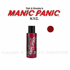 Manic Panic Amplified Semi-permanent Vegan Hair Dye Color All Colors 4 OZ Pillarbox Red