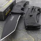 8.5' TAC FORCE SURVIVAL TANTO SPRING ASSISTED TACTICAL FOLDING POCKET KNIFE