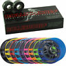 Clawz Roller Skate Wheels With Rollerbones 8mm Bearings Full Set of 8