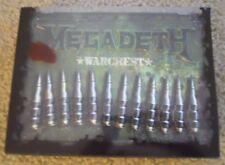 MEGADETH ~ WARCHEST ~ NM/NM- ~ 4CDS/DVD ~ 2007/PROMO/UNPLAYED ~ METALLICA/SLAYER