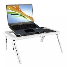 MESA PLEGABLE BASE SOPORTE CON VENTILADOR para PORTATIL TABLET MACBOOK IPAD