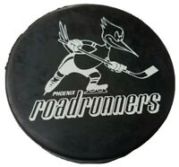 VINTAGE PHOENIX ROADRUNNERS IHL CZECH REPUBLIC  HOCKEY OFFICAL LICENSED PUCK