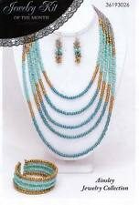 NEW JEWELRY KIT OF THE MONTH AINSLEY JEWELRY COLLECTION NECKLACE BRACELET EARRIN