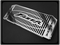 Polished Radiator Cooler Grill for YAMAHA FZS600 FAZER - 1998 to 2003, FZS 600