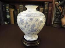 Blue & White Transfer Ware Date-Lined Ceramic Antique Original Victorian