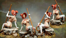 █ Resin 75mm Witch Girl Mary Has a Sudden Sexy Figure Unpainted TS291