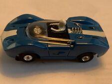 My Collection.Vintage-Aurora -Mclaren Elva Slot Car. Great Condition.Rare Color