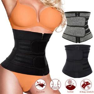 Waist Trainer Women Corset Slimming Belt Sauna Sweat Weight Loss Body Shaper USA