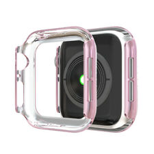 Crystal Diamonds Case Cover For Apple Watch Series  4 3 2 1 Screen Protector